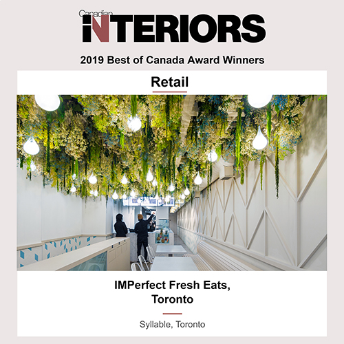 Best of Canada Awards 2019 Winner, Retail, Imperfect Fresh Eats