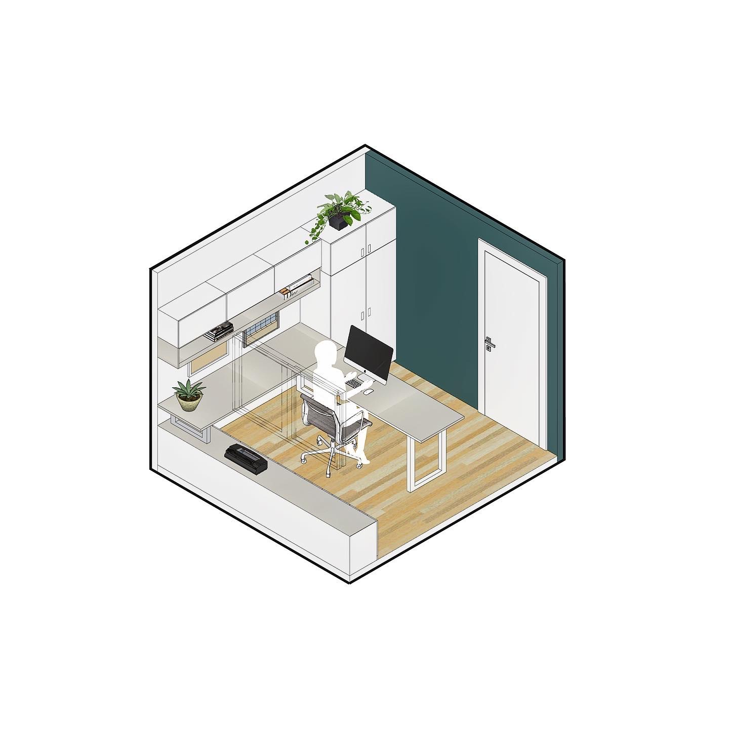 Bedroom As Home Office