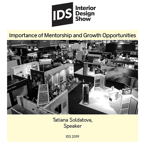 IDS 2019 Presenter: Tatiana Soldatova, Importance of Mentorship and Growth Opportunities