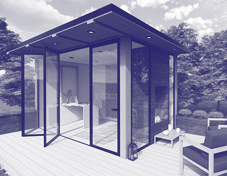 BlogTO: Toronto Design Firm Creates Idyllic Backyard Pods you can Work In