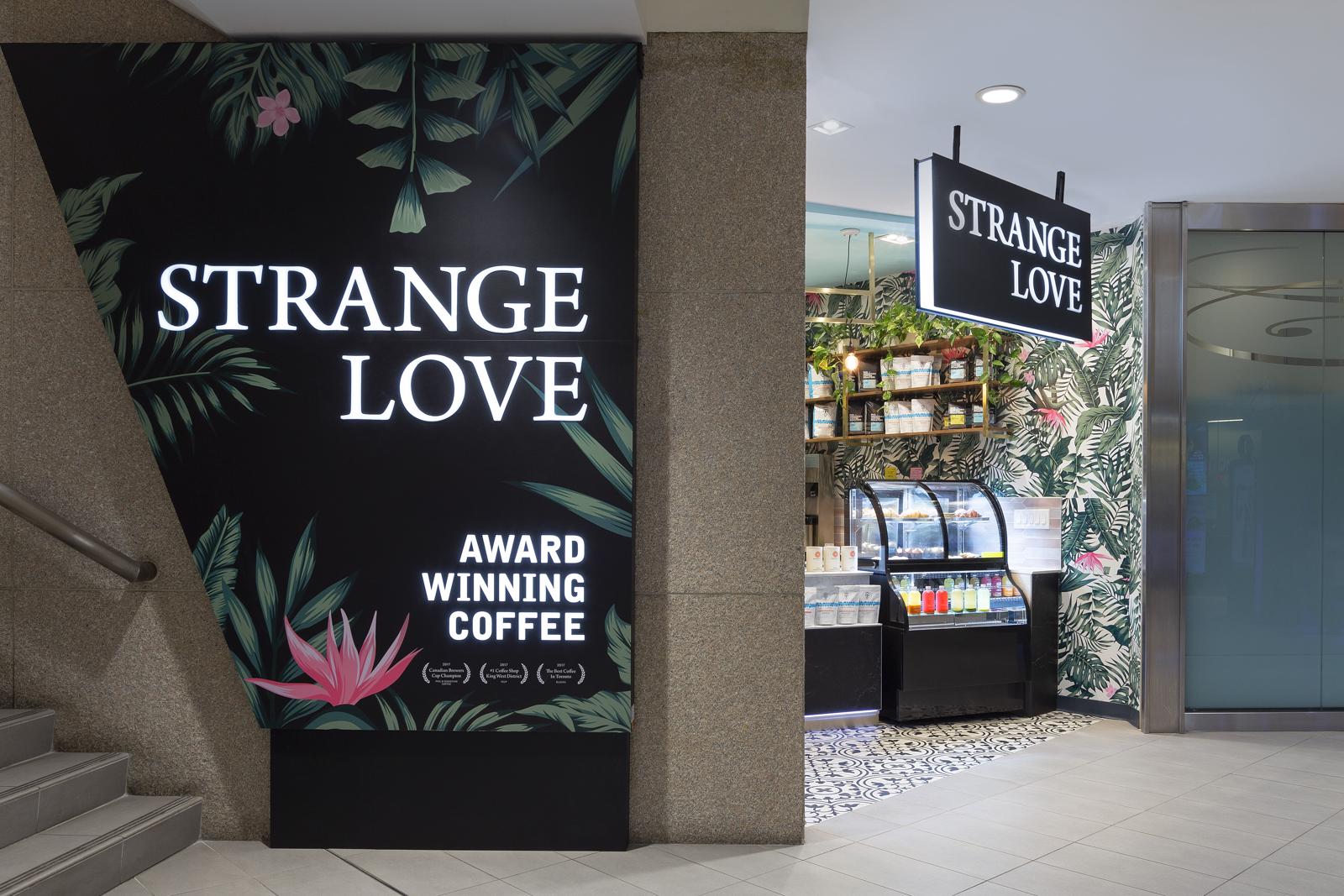 Strange Love Coffee RBC